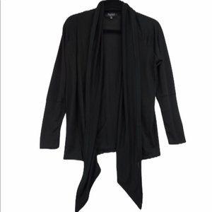 Papillon Black Waterfall Cardigan Sweater